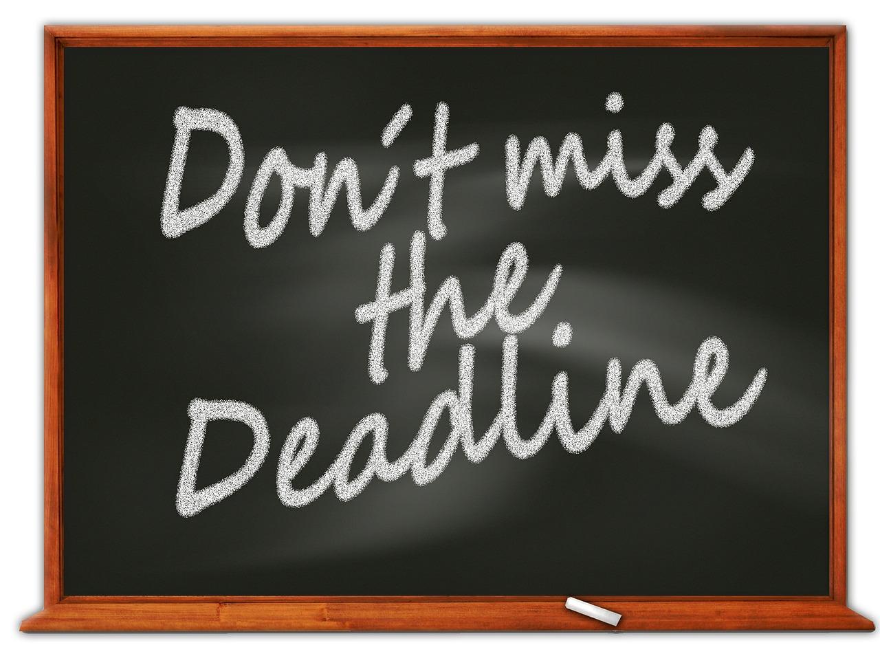 Employment Related Securities Return Deadline