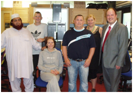 Simpson Wood Provide I.T. To Local Charity